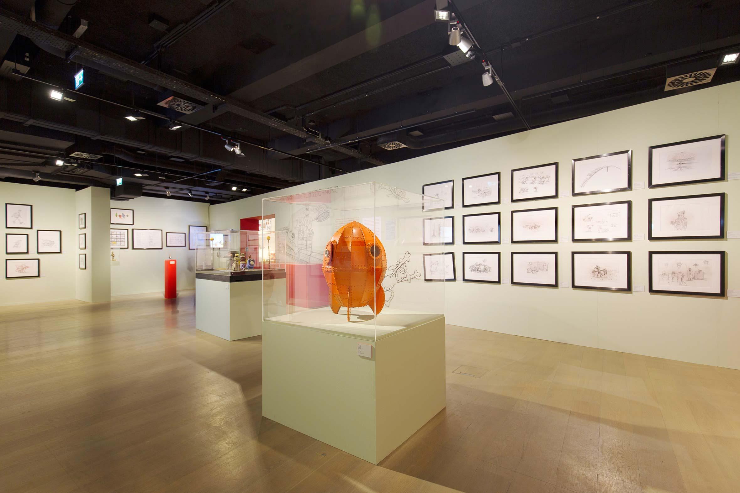 Tonia Bürkle (blaugrau): Die Kunst von Aardman für Deutsches Filmmuseum Frankfurt 3