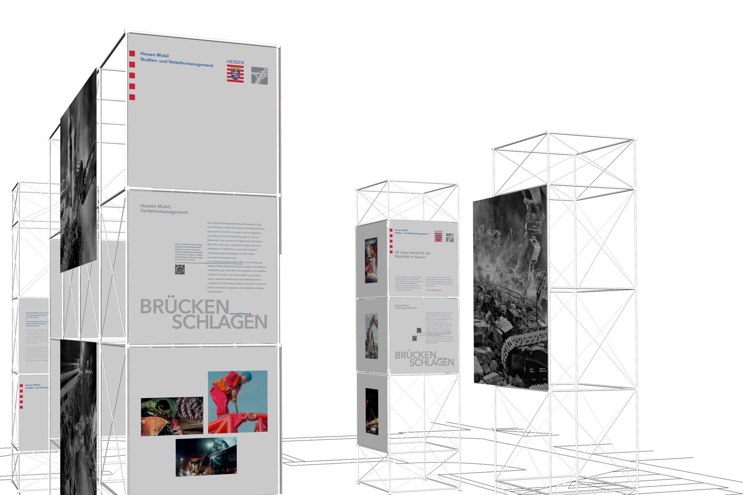 Tonia Bürkle (blaugrau): Brücken schlagen für Hessen Mobil Wiesbaden 1