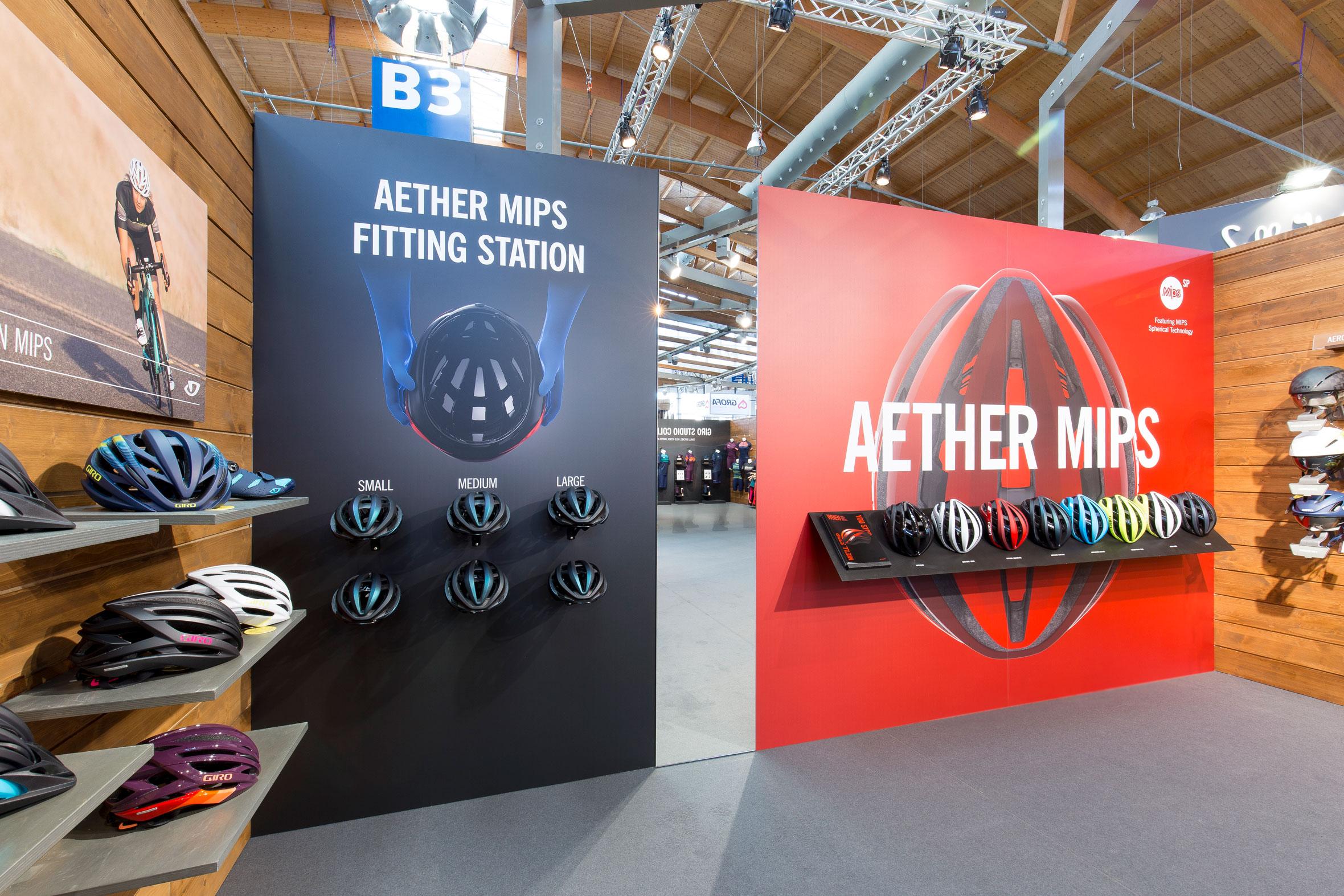 Tonia Bürkle (blaugrau): Giro Sport Design für Eurobike Friedrichshafen und Ispo MünchenGiro Sport Design 8