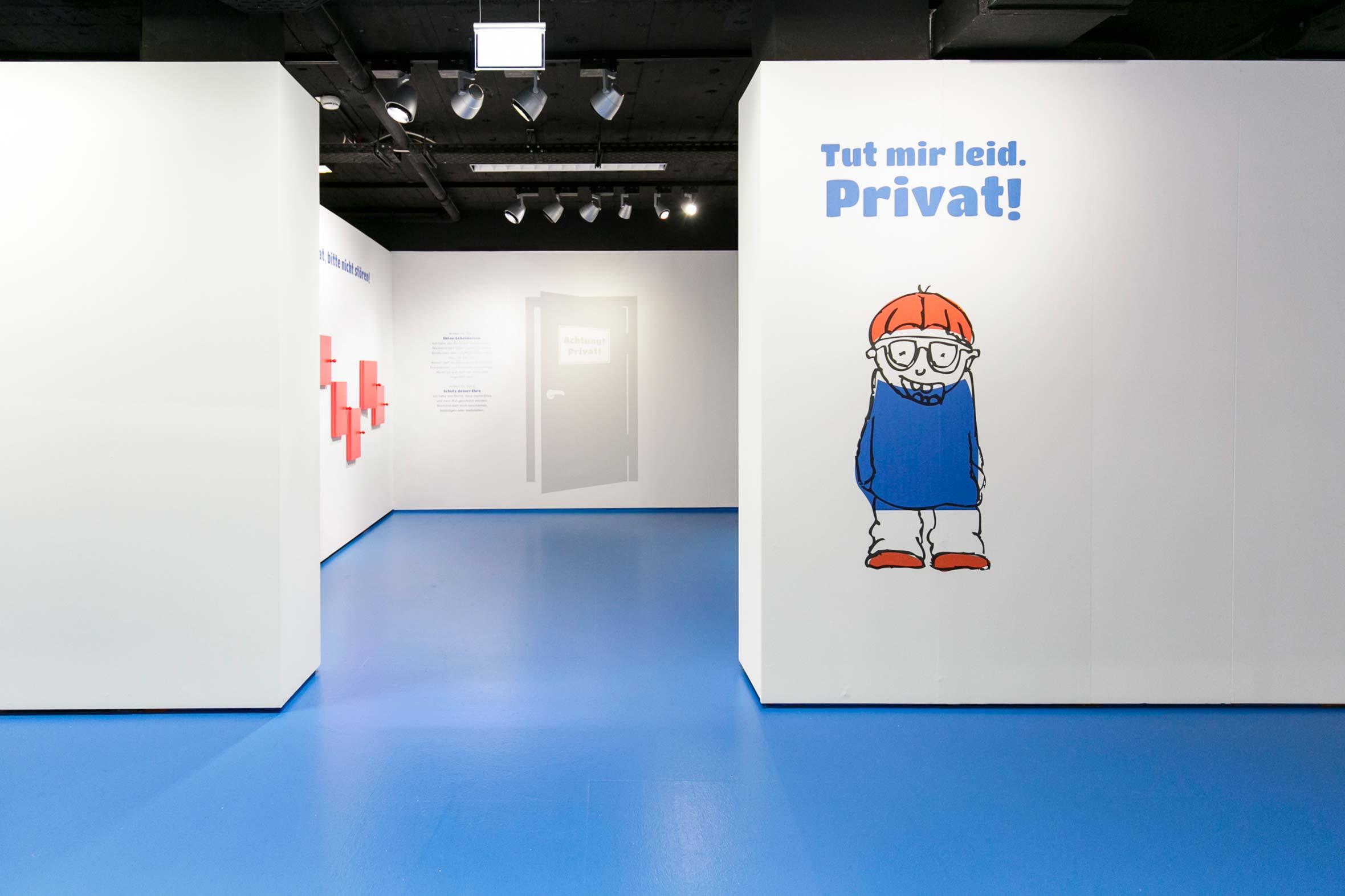 Tonia Bürkle (blaugrau): Kinder haben Rechte! für Kindermuseum Frankfurt 11