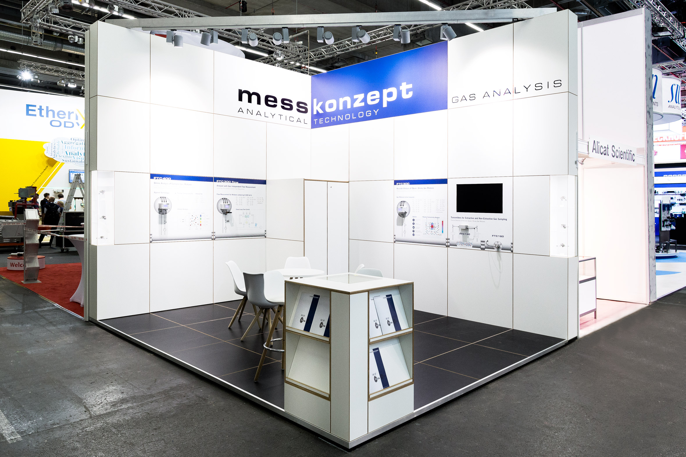 Tonia Bürkle (blaugrau): Messkonzept GmbH  für Achema FrankfurtMesskonzept GmbH  1