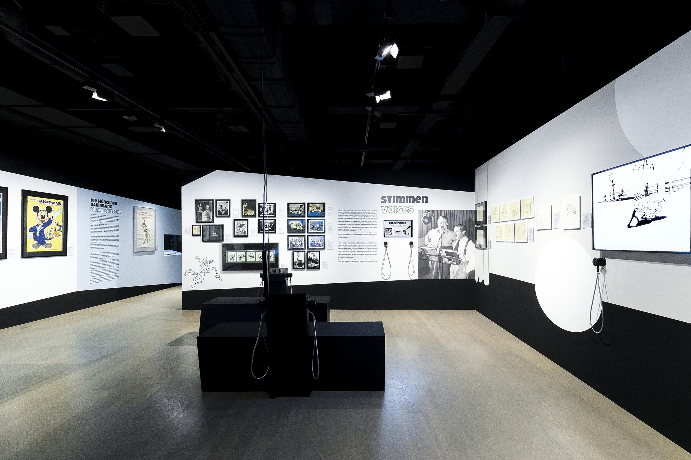 Tonia Bürkle (blaugrau): The Sound of Disney. 1928–1967 für Deutsches Filmmuseum Frankfurt 4