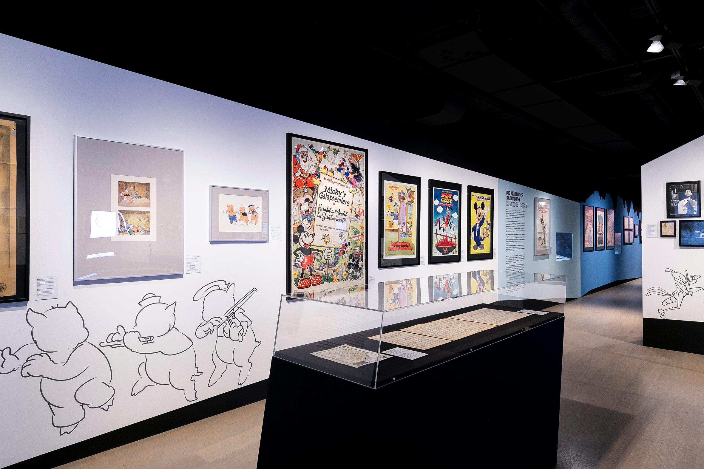 Tonia Bürkle (blaugrau): The Sound of Disney. 1928–1967 für Deutsches Filmmuseum Frankfurt 7