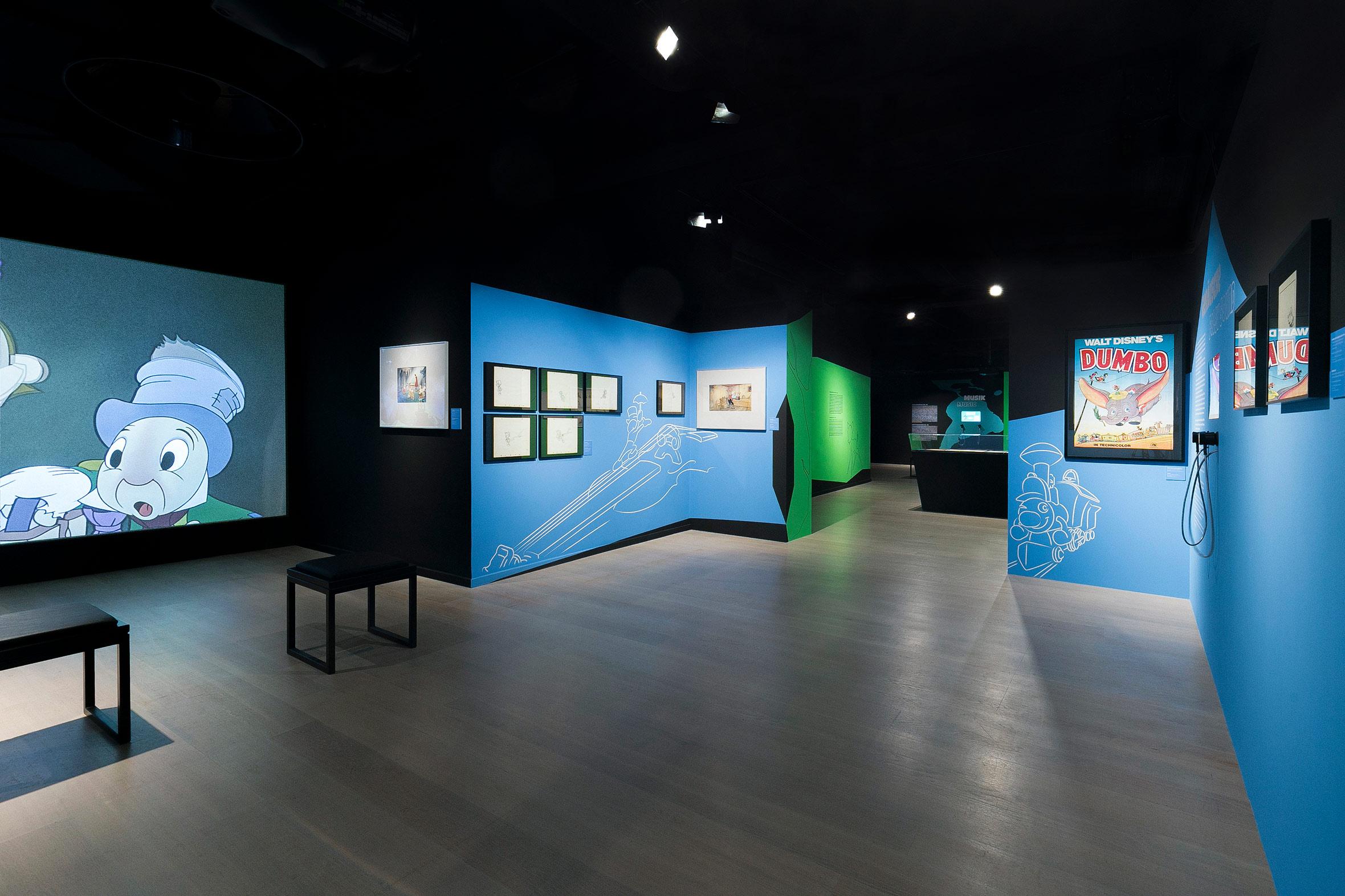 Tonia Bürkle (blaugrau): The Sound of Disney. 1928–1967 für Deutsches Filmmuseum Frankfurt 12
