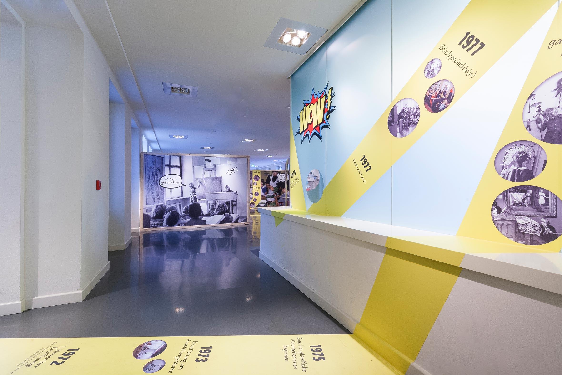 Tonia Bürkle (blaugrau): WOW! Das Beste aus 45 Jahren Kindermuseum für Junges Museum Frankfurt 1