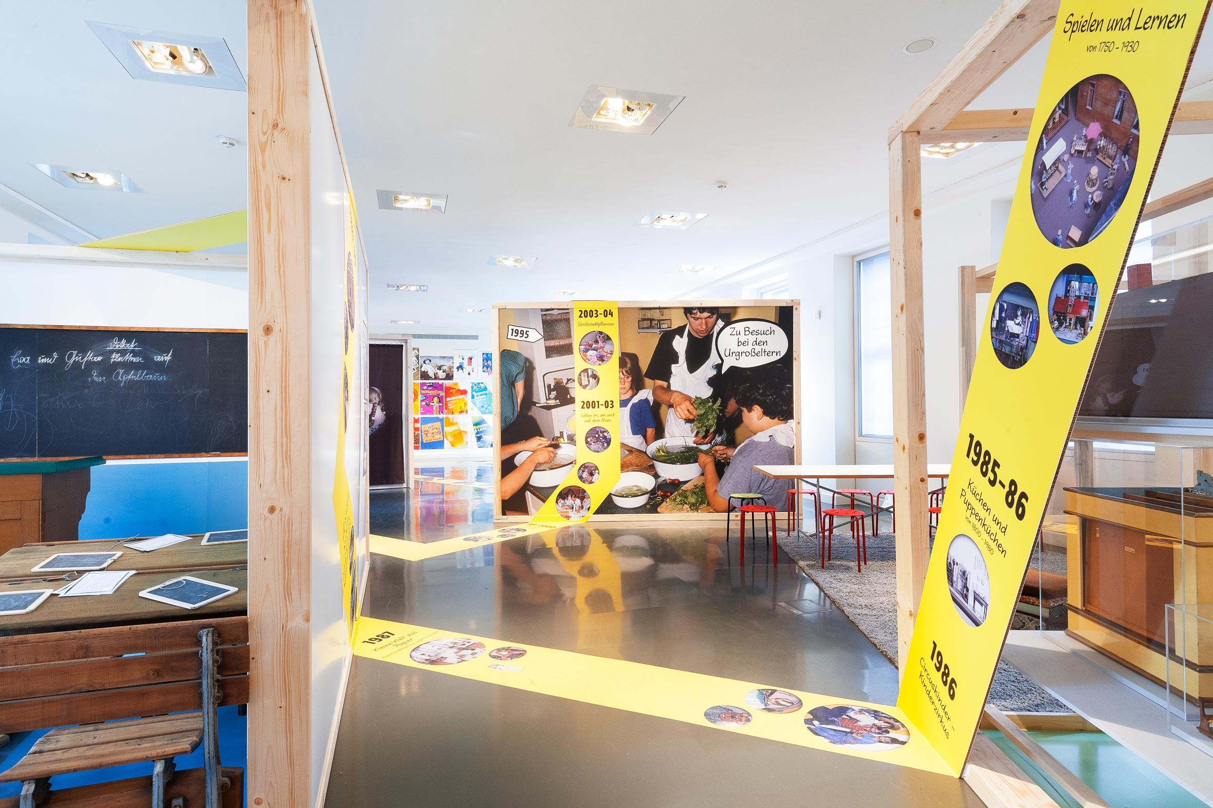 Tonia Bürkle (blaugrau): WOW! Das Beste aus 45 Jahren Kindermuseum für Junges Museum Frankfurt 2