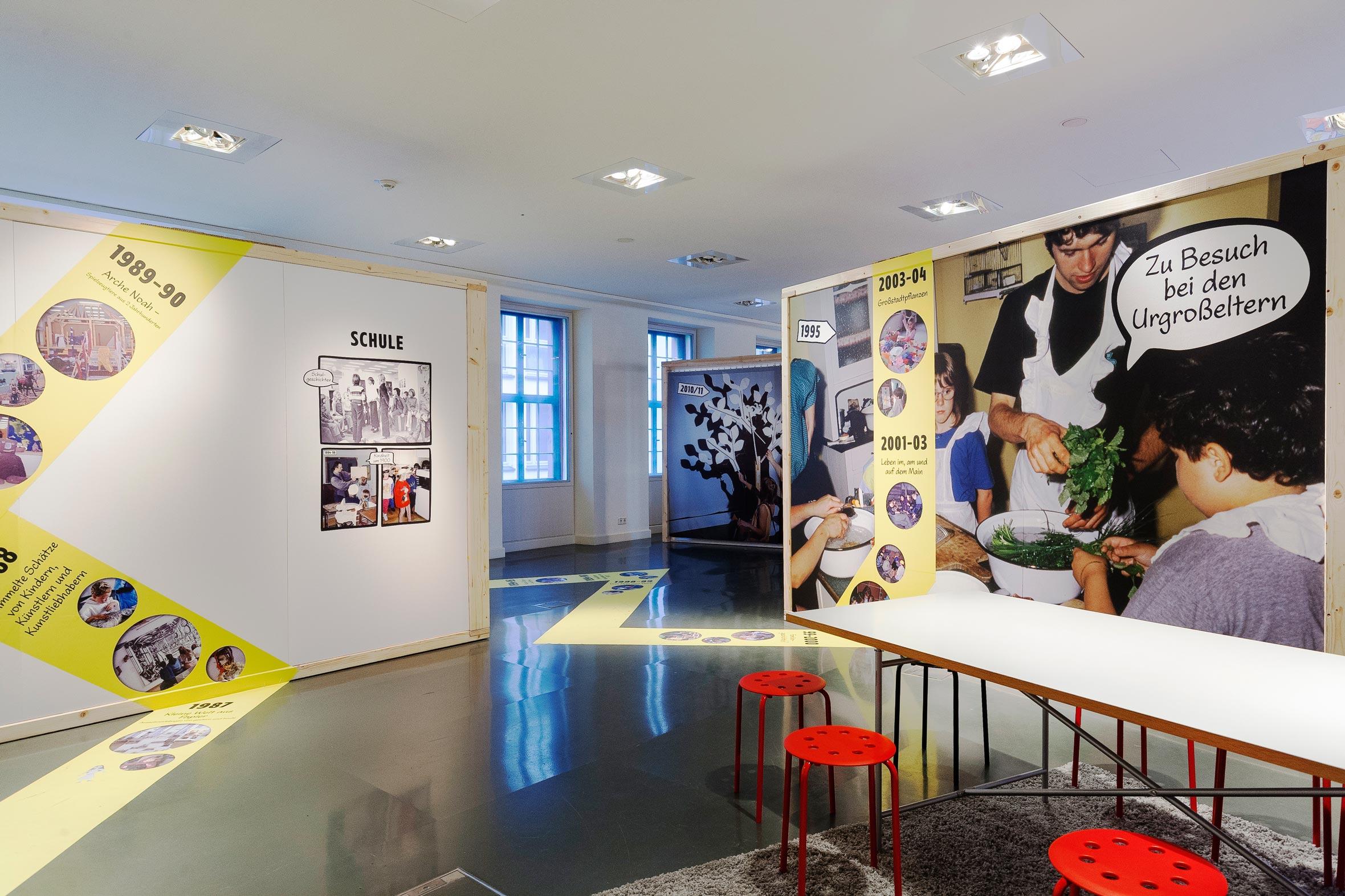Tonia Bürkle (blaugrau): WOW! Das Beste aus 45 Jahren Kindermuseum für Junges Museum Frankfurt 9